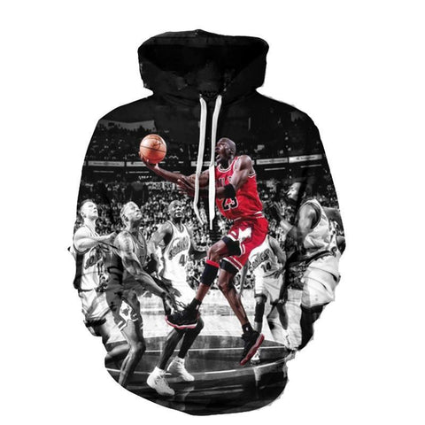 Image of Michael Jordan Lay-Up Hoodie