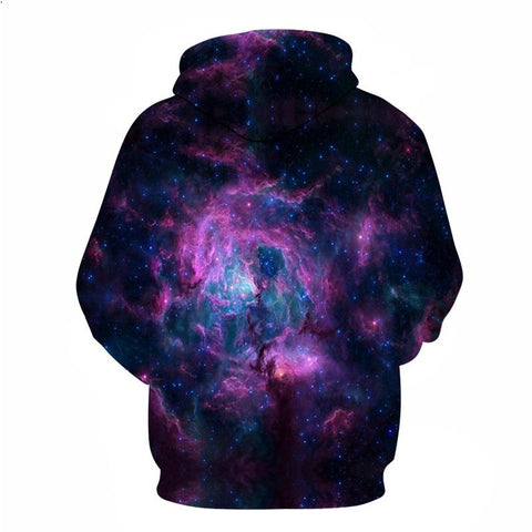 Image of Purple Swirls Hoodie