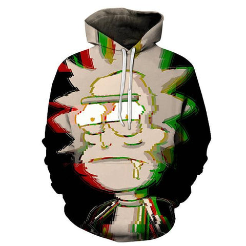 Image of Rick and Morty 3D Hoodies