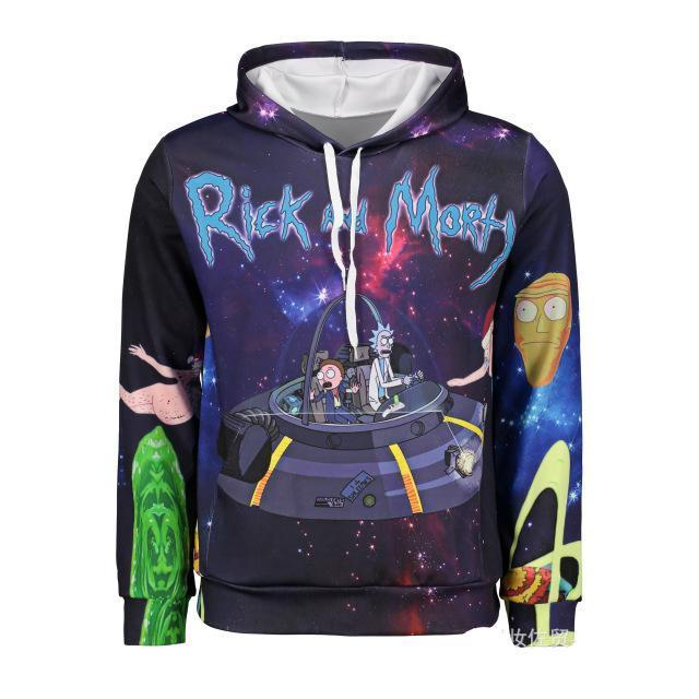 Rick and Morty printing sweater