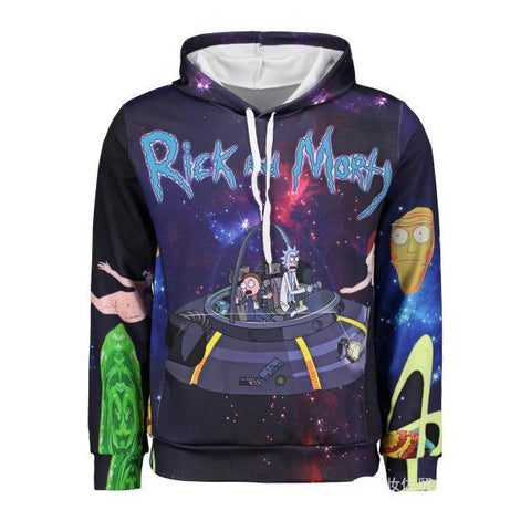 Image of Rick and Morty printing sweater