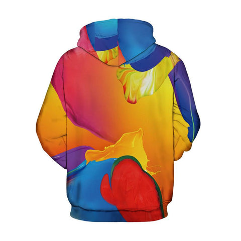Image of Paint Waves Hoodie