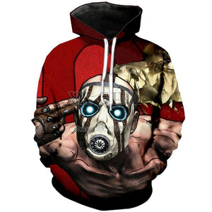 Borderlands Hoodies - 3D Sweatshirt Hoodies