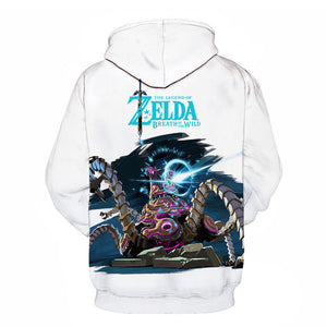 The Legend of Zelda Anime 3D Print Hoodies Pullover