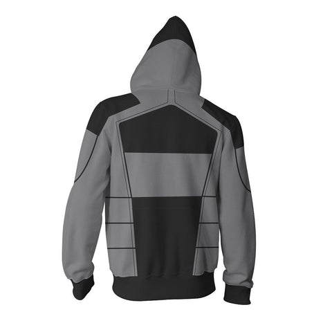 Image of Borderlands 2 Assassin Zero Hoodies - Zip Up Cosplay Costume Hoodie