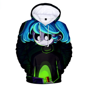 Sally Face Hoodies - Sally Face Game Series Cartoon Sally Face Mask Hoodie