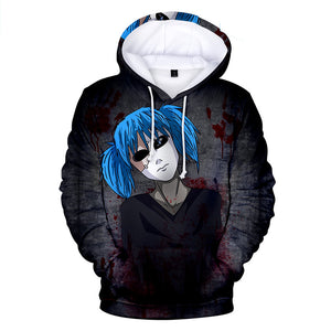 Sally Face Hoodies - Sally Face Game Series Bloodiness Sally Face Mask Hoodie