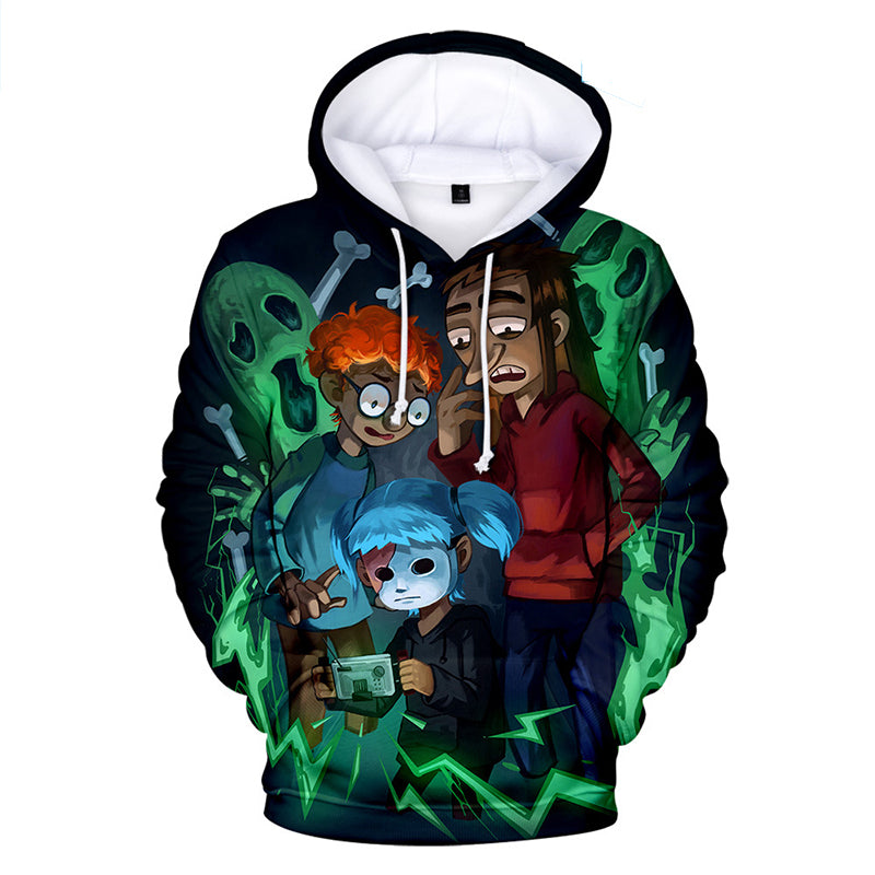 11f4f770d506 Sally Face Hoodies - Sally Face Game Series Sally Face Larry Hoodie ...