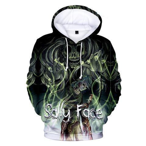 Sally Face Hoodies - Sally Face Game Series Sally Face Devil Hoodie