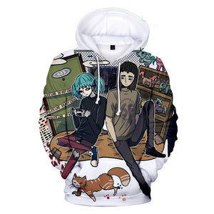 Sally Face Hoodies - Sally Face Game Series Game Character Sally And Larry Hoodie