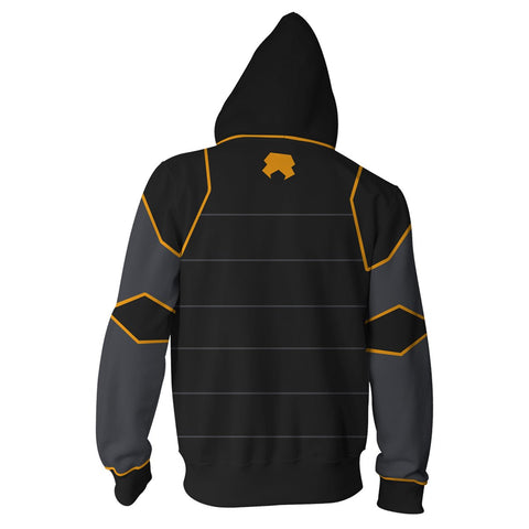 Avatar: The Last Airbender Lin Beifong Hoodies - Zip Up Hoodie