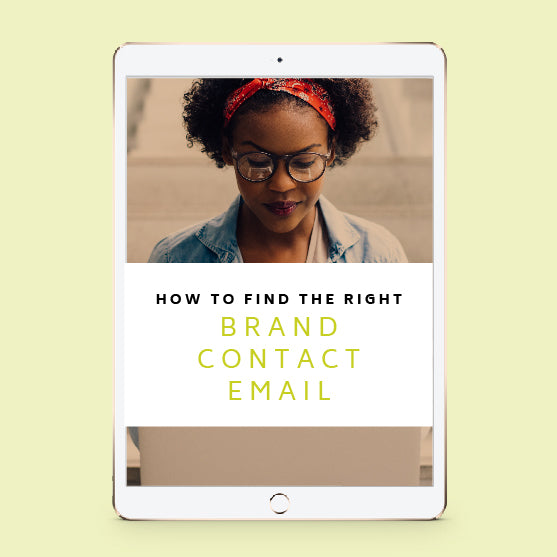 Instructions on Finding the Right Brand Contact Emails