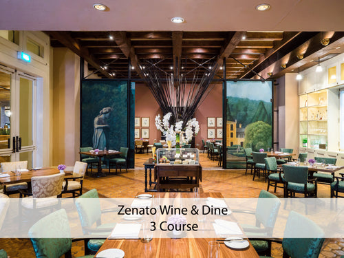 Zenato Wine & Dine (3 Course) 1 - 7 October, 2018 only