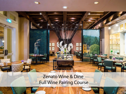 Zenato Wine & Dine (Full Wine Pairing Course) 1 - 7 October, 2018 only