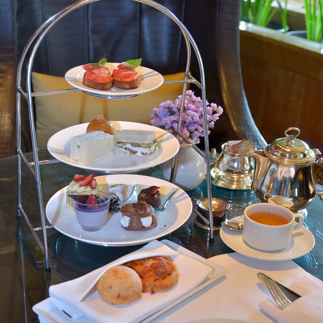 (Exclusive) Afternoon Tea for 2 persons and complimentary welcome drink