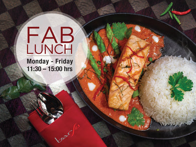 Fab Lunch for 2 persons