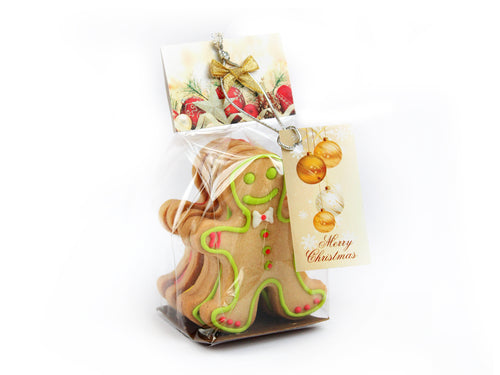 Christmas Gingerbread Man Cookie 3 pcs
