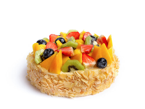 Creamy Fruit Cake (2 pounds)