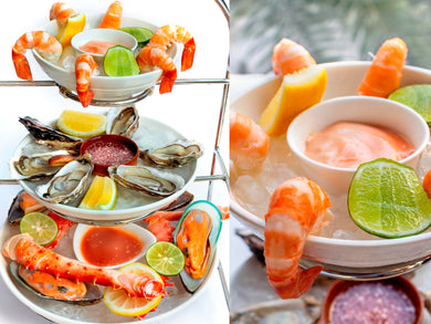 Luxury Seafood Platter + Mumm Champagne 750 ml at The Living Room (Fri - Sat only)