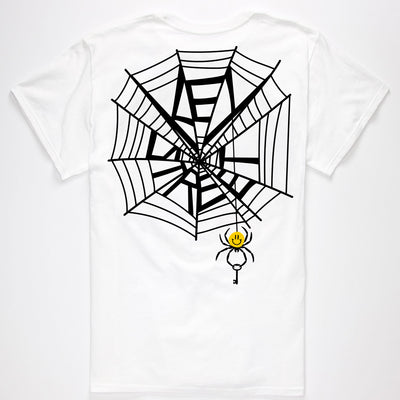 Smile Spider Tee White
