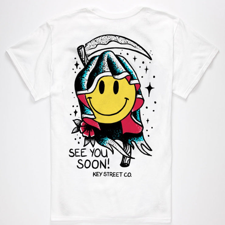 The See You Soon Tee in white
