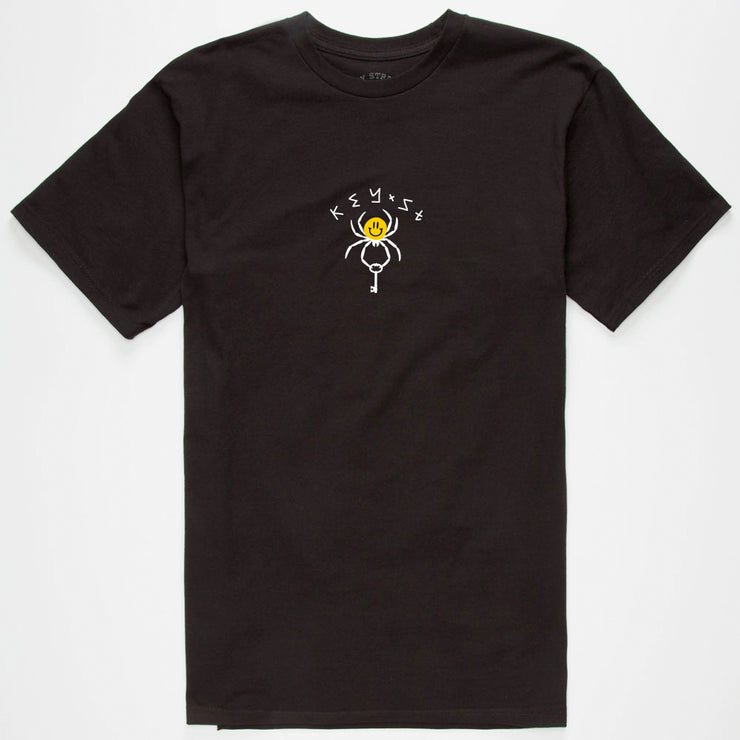 Smile Spider Tee Black