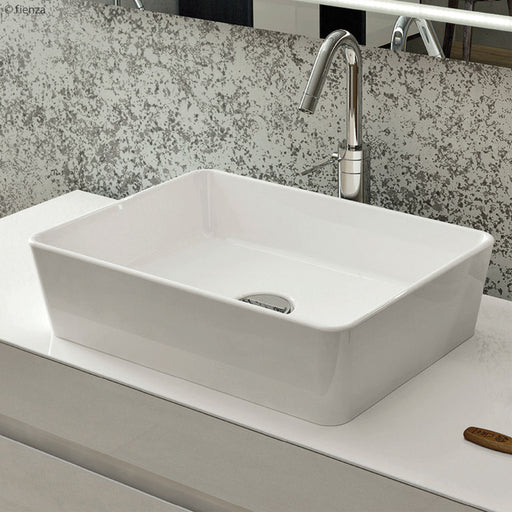 Moon Rectangular Above Counter Basin