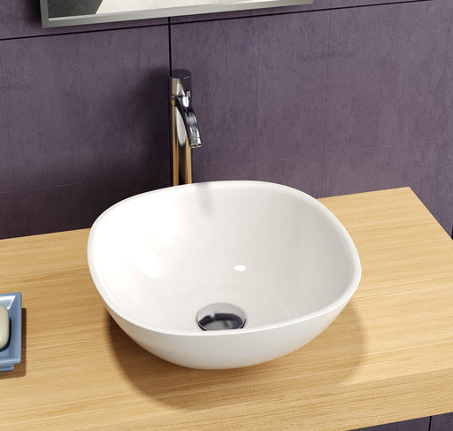 Blanche Solid Surface Above Counter Basin