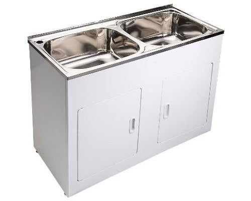 BLT-1160 Double Trough and Cabinet
