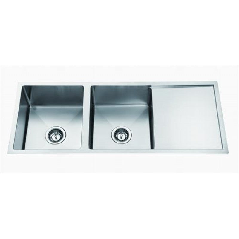 D99R-B Double Bowl Universal Sink
