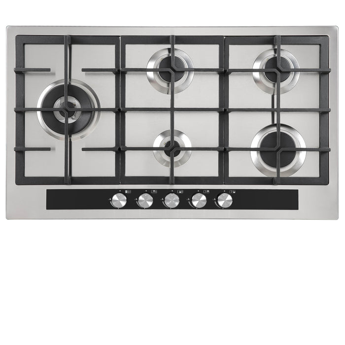 90cm Gas Cooktop With Wok Burner