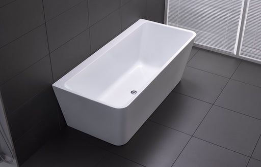 Florence Back To Wall Freestanding Bath