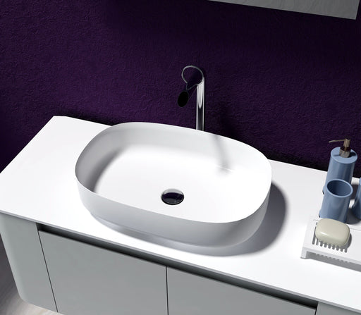 Lila Solid Surface Above Counter Basin