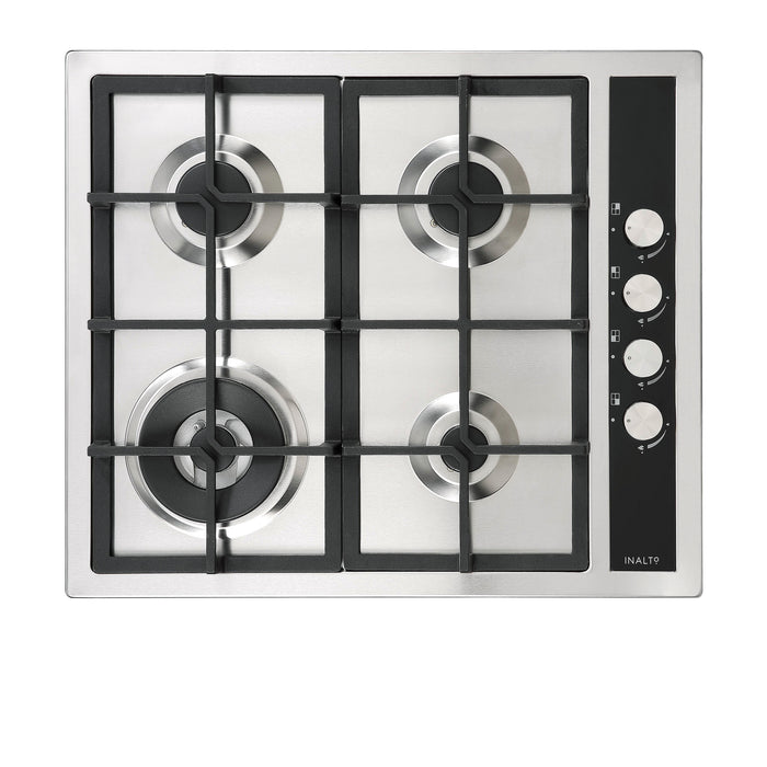 60cm Gas Cooktop with Wok Burner