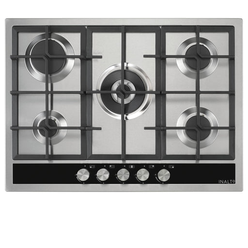 70cm Gas Cooktop with Wok Burner