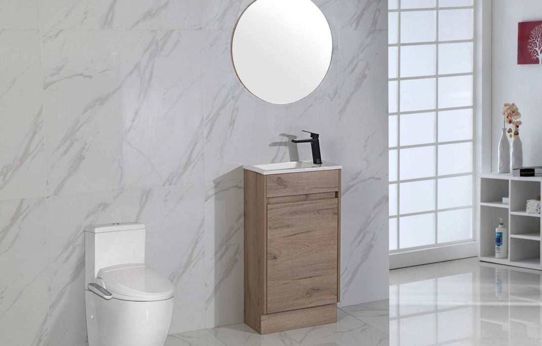 Revit Floor Standing Powder Room Vanity
