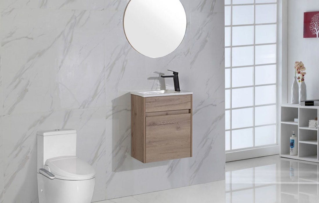 Revit Wall Hung Powder Room Vanity