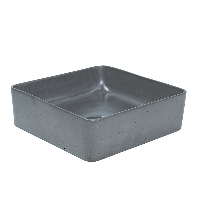 Rounded Square Concrete Basin