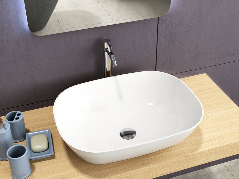 Selene Solid Surface Above Counter Basin