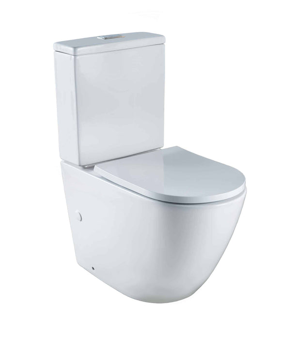 Arko Rimless Easy Height Toilet Suite