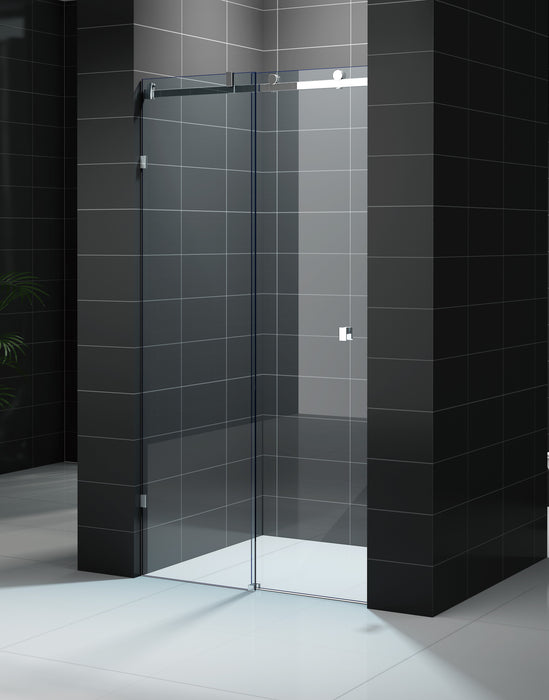 Frameless Sliding Shower Screen - Front Only