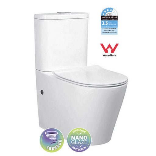 T6088- Back To Wall Tornado Flush Toilet Suite