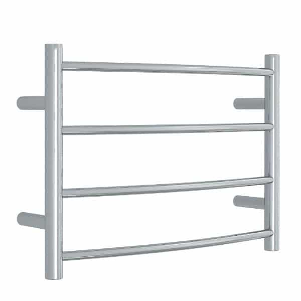 CR40M Curved Round Ladder Heated Towel Rail