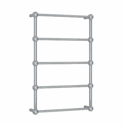 SB34M Straight Round Heritage Ladder Heated Towel Rail