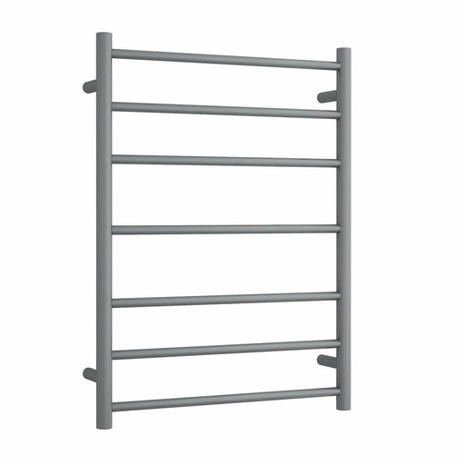SR44MGM Gun Metal Straight Round Ladder Heated Towel Rail