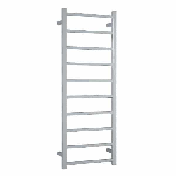 SS19M Straight Square Ladder Heated Towel Rail