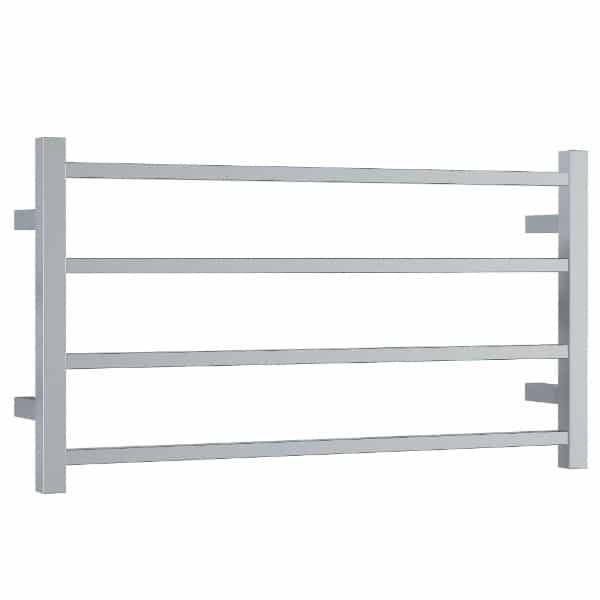 SS81M Straight Square Ladder Heated Towel Rail