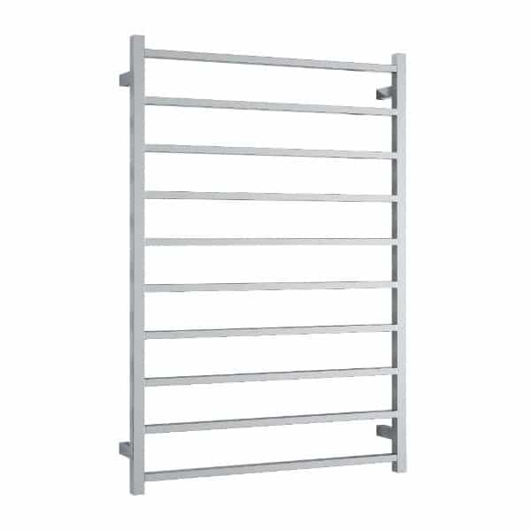 SS88M Straight Square Ladder Heated Towel Rail