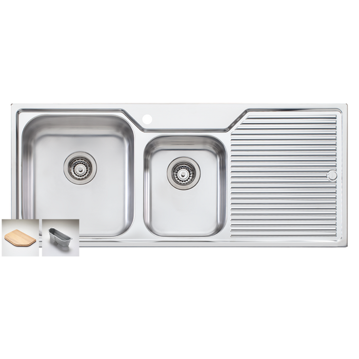 Nu Petite 1150 1 and 3/4 Bowl Sink