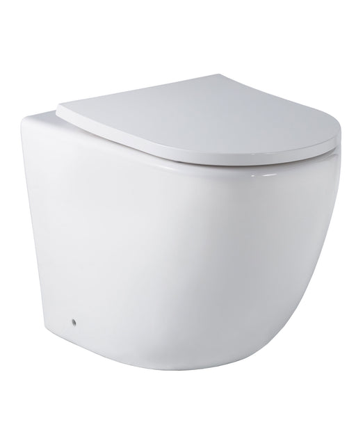 Arko Floor Mount In Wall Toilet Suite